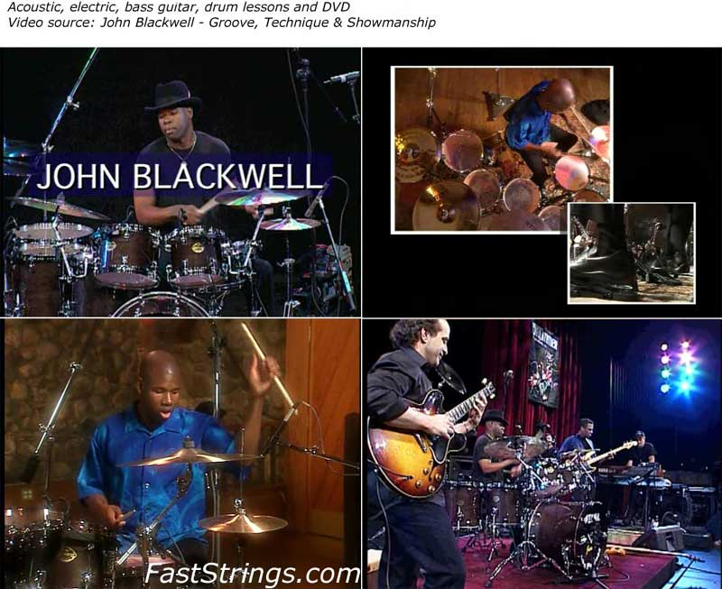John Blackwell - Groove, Technique & Showmanship