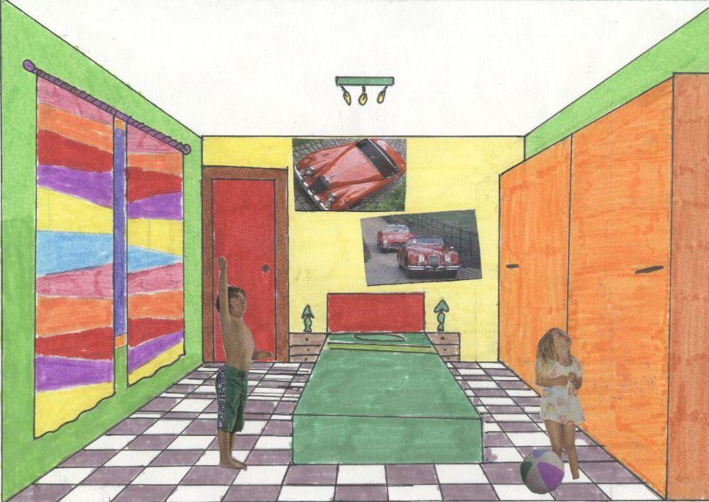 Artecalero marzo 2011 - Habitacion en perspectiva conica ...