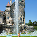 historic tour at the famous Casa Loma in Toronto, Ontario, Canada