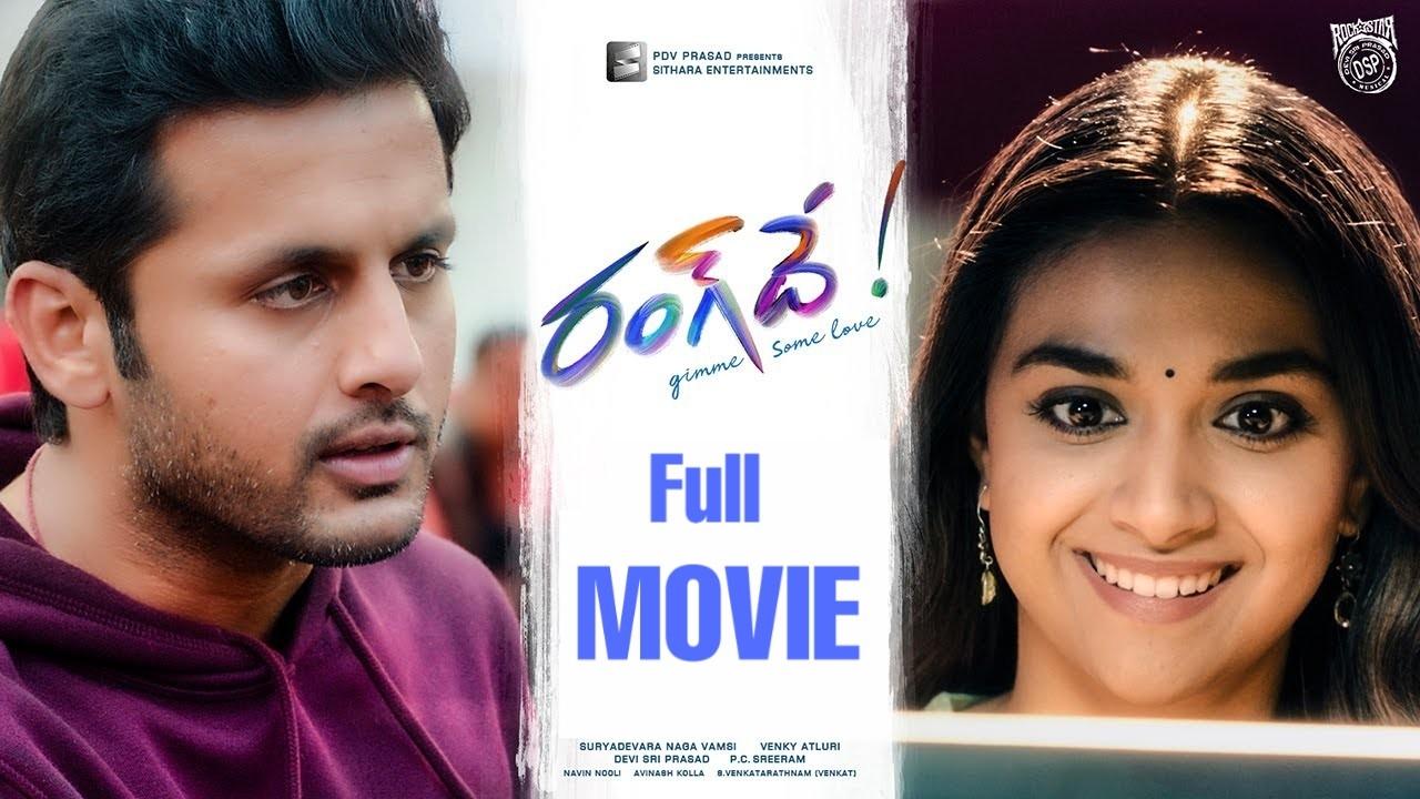 Rangde Full Length Movie In Telugu Leaked Online Free Watch Or Download Telugu