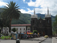 Banos city center