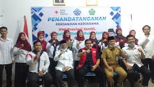 MOU PMI dan UIN STS Jambi, HBA : Kita Akan Jadikan PMI Jambi Menjadi yang Terbaik Se-Indonesia