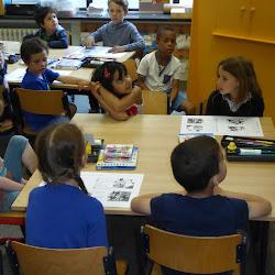 op bezoek in de bijtjesklas integratie namiddag 3e kleuter -1e leerjaar