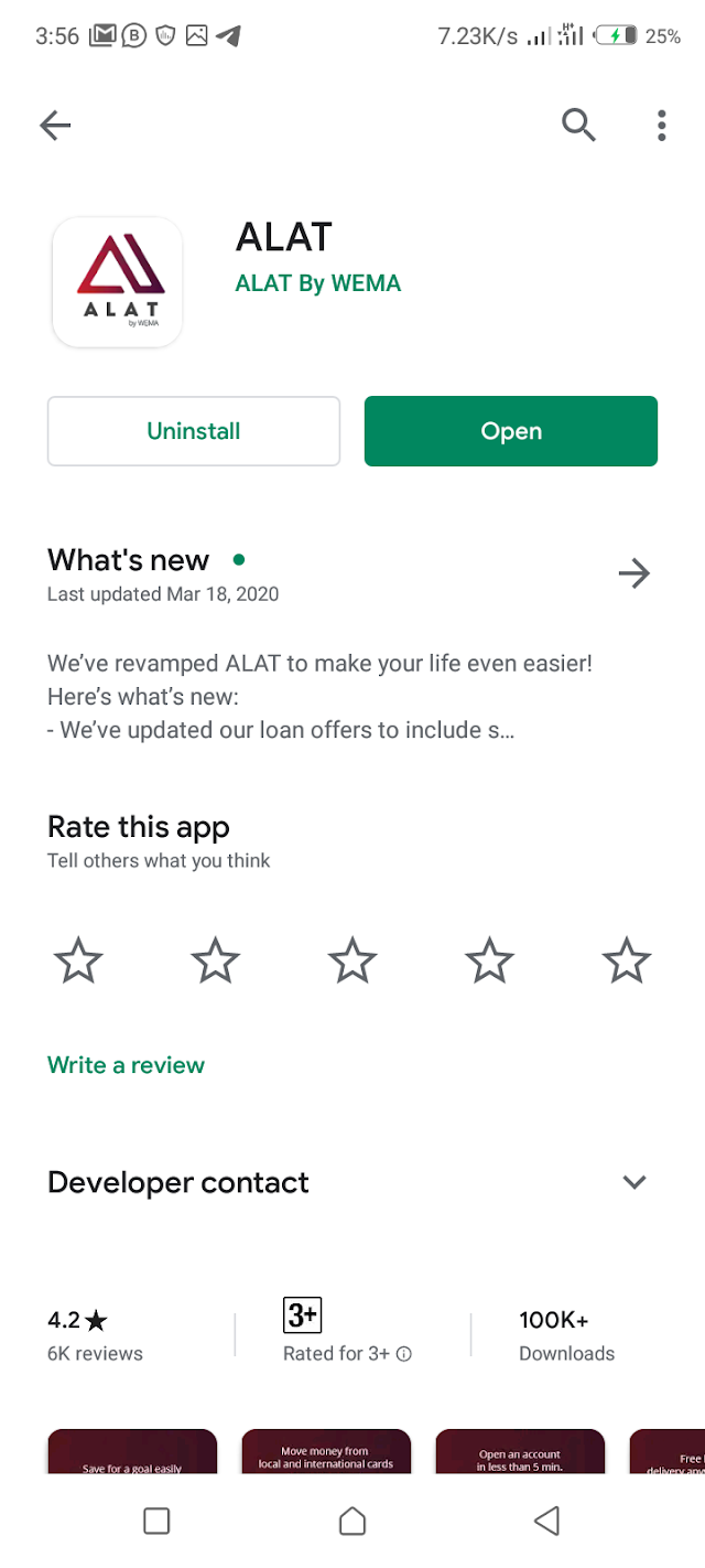 Make N7k daily with Wema bank Alat app🤑