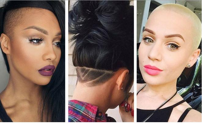 Super Cute Badass Shaved Hairstyles For Women Short Hairstyles For Black Women Fulllsitofus