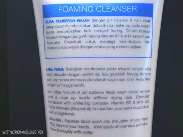 Rivera Facial Wash Foaming Cleanser
