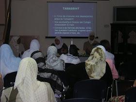 Conferencia informativa solidaridad damnificados terremoto Marruecos. CCIV 2004