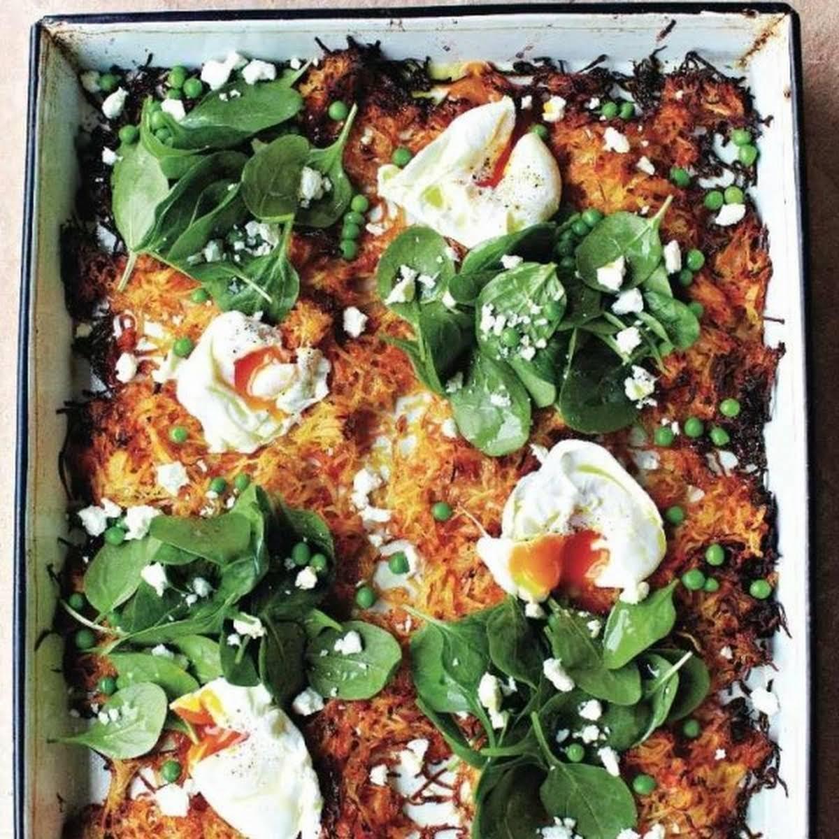 Jamie Olivers Giant Veg Rösti Recipe