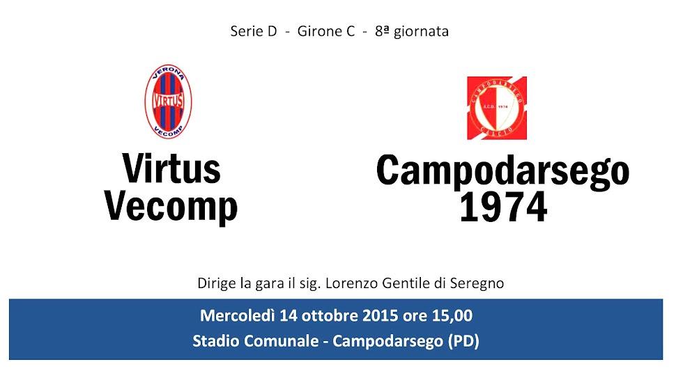 Serie D, a Campodarsego rossoblu in cattedra ma si fanno raggiungere