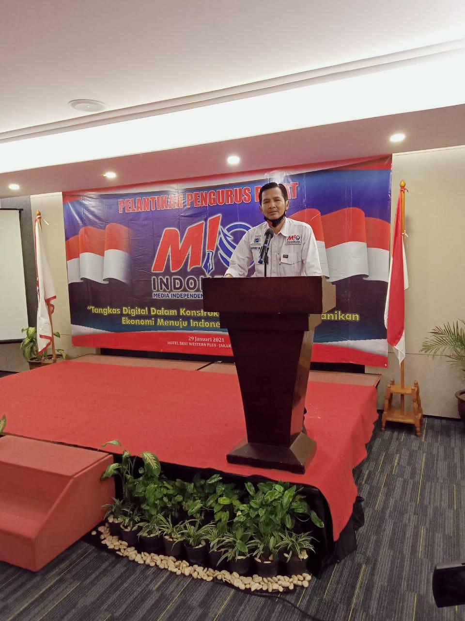 Pelantikan Dewan Pengurus Pusat Media Independen Online Indonesia (MIO)