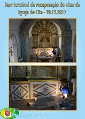 Retauro altar Igr. Ota -19.12.17