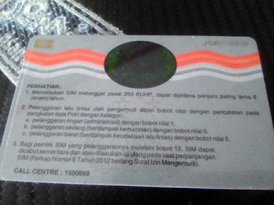 Biaya Buat SIM C 2021, Simak Detailnya Di Sini !!