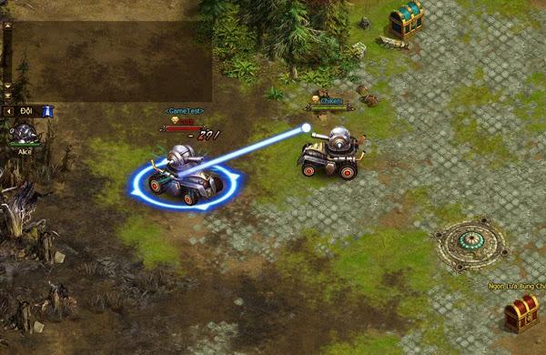 Thần Khúc thành game bắn xe tăng với bản cập nhật mới 8