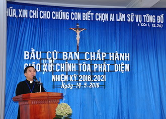 Giáo xứ Phát Diệm tổ chức bầu cử Ban chấp hành nhiệm kì 2016 – 2021