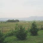 Area around where the James Gleaves Turk Family lived