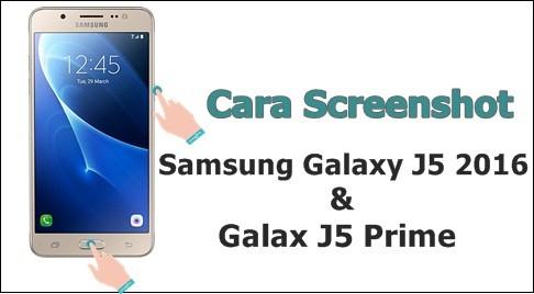dengan dua metode yang berbeda sanggup dilakukan dengan gampang 2 Cara Screenshot Samsung J5 2016 dan J5 Prime