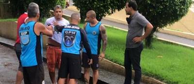 Paulo José Arronenzi , preso por matar a juíza Viviane Vieira do Amaral Arronenzi não demonstra emoção