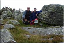 Malkorra mendiaren gailurra 1.246 m.  --  2016ko ekainaren 19an