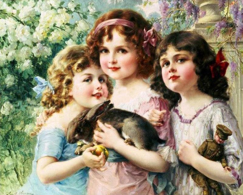 Emile Vernon - The Three Graces