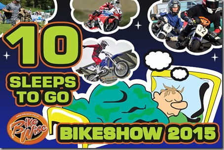 Bikewise Countdown (10 sleeps) Graphic