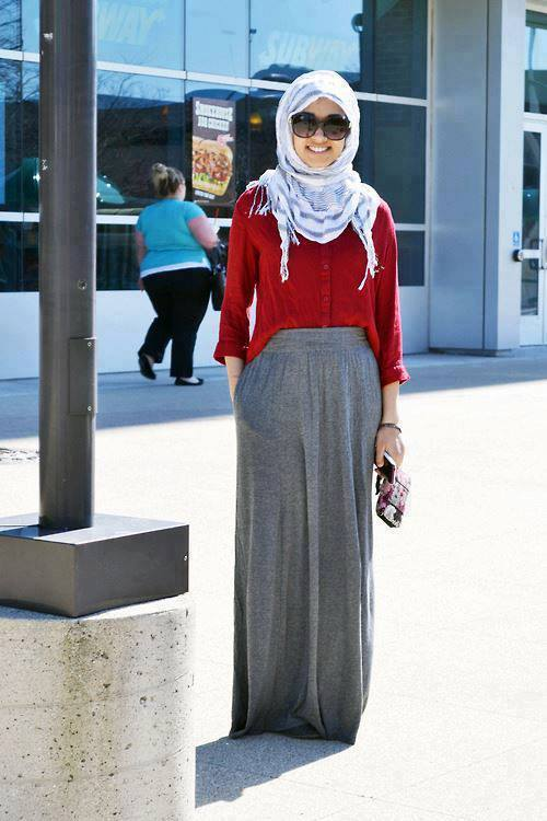 maxi hijab outfit and style for 2016