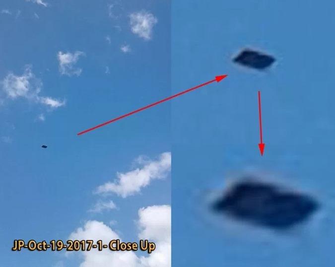 OVNIs nas proximidades da Base da Força Aérea de MacDill 01