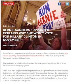 20160718_2100 Bernie Sanders Supporter Explains Why She Won't Vote For Hillary Clinton.jpg