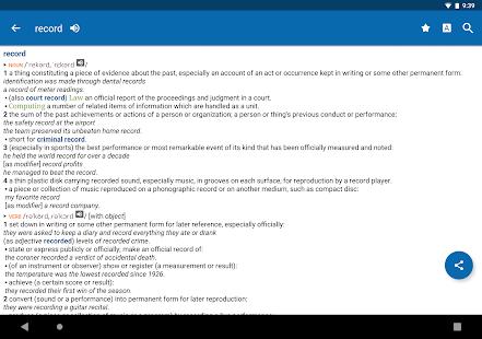 New Oxford American Dictionary v9 1 363 Premium [Latest] | APK4Free