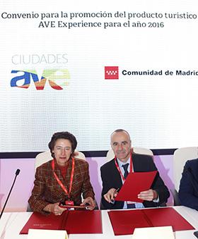 Fomentar viajes a Madrid en AVE