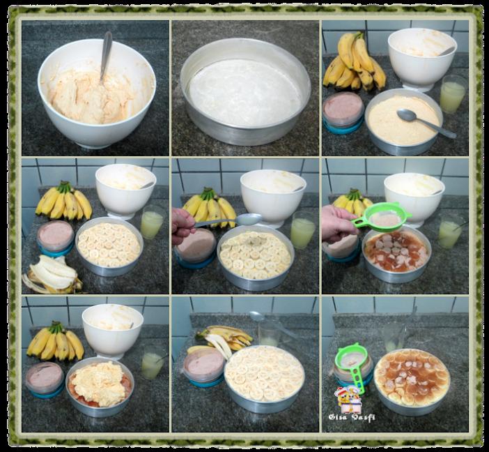 Bolo de banana e limão 4
