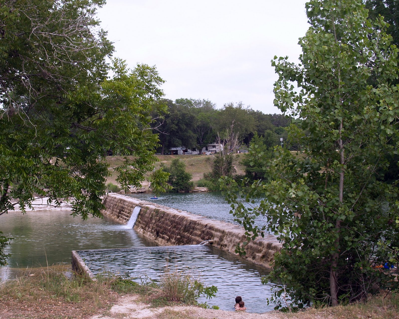 Blanco tx state park here and there for Blanco state park fishing