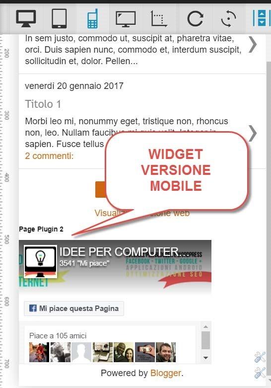 mostrare-widget-versione-mobile
