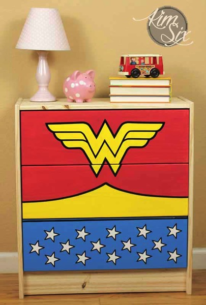 Super Hero Wonder Woman Girls Dresser