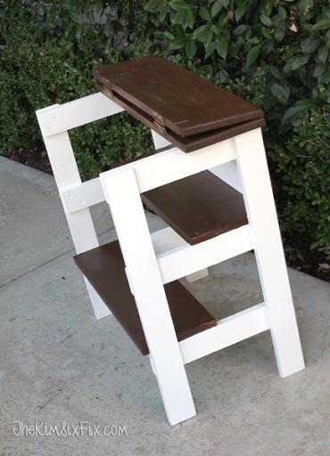 A Table Thatu0027s Also A Step Stool, What? Would You Check Out This Mulit  Functional Piece!