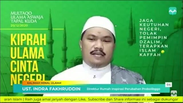 Direktur Rumah Inspirasi: Kembalilah kepada Islam Kaffah