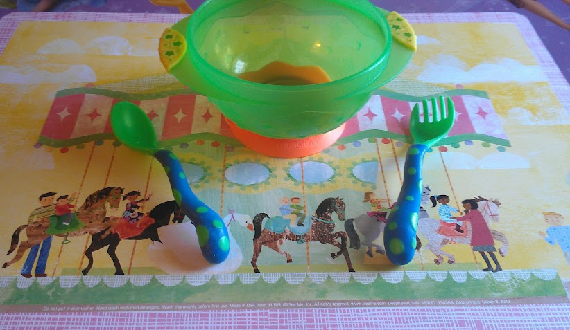 I See Me Personalized Carousel Placemat