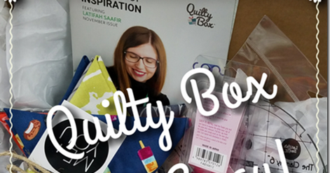 November Quilty Box Times Two! {Gift-Away!}