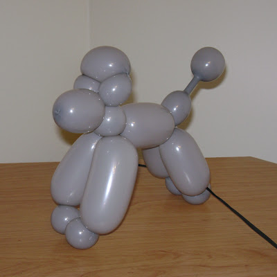 A basic balloon poodle