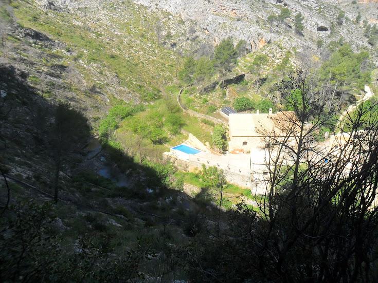 zona de Escalada Barranc dels Tarongers Sector Granainos 2 2