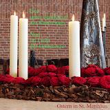 Erst unter dem Kreuz des Karfreitags- Nun im Licht der Osterkerze