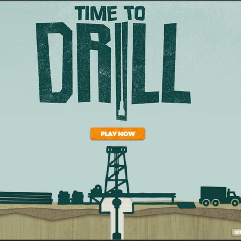 Time to Drill: un juego donde haces rol de perforador