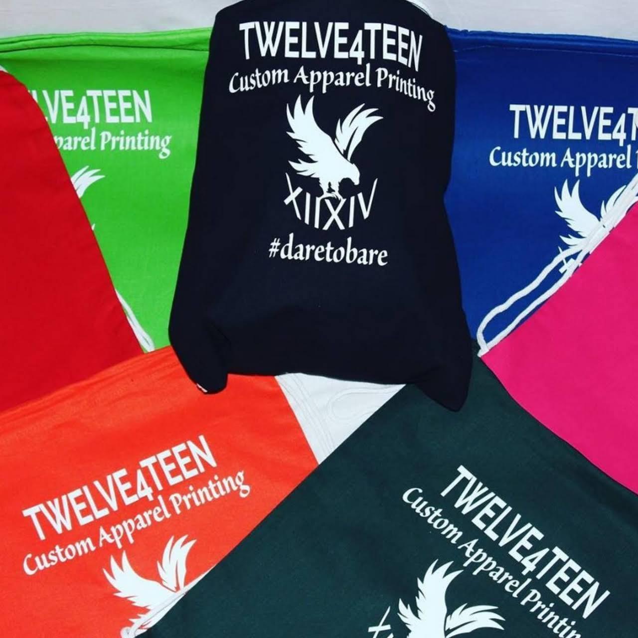 TWELVE4TEEN - CUSTOM PRINTING - Custom T-Shirt Shop