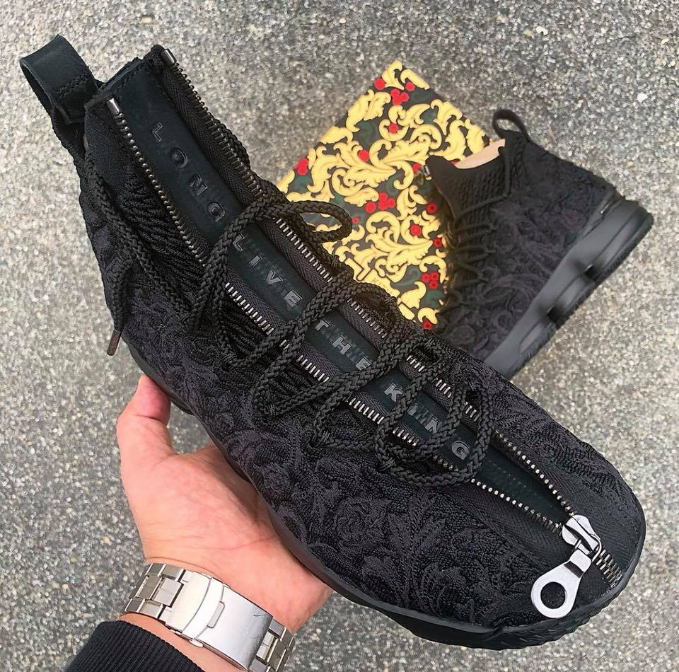 6f284aebf2c4 ... Get Up Close and Personal with Suit of Armour KITH X LeBron 15 ...
