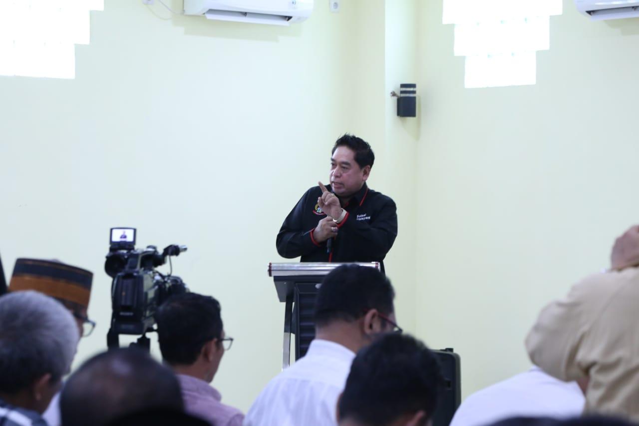 Dialog Publik di Kab. Barru Dihadiri Sekprov, Ini Paparan AHG