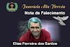 Funerária Alta Floresta comunica o falecimento de Elias Ferreira dos Santos