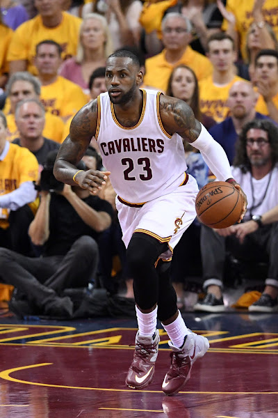 LBJ Goes Back to Standard LeBron 13s Leads Cavs to 32 Series Lead