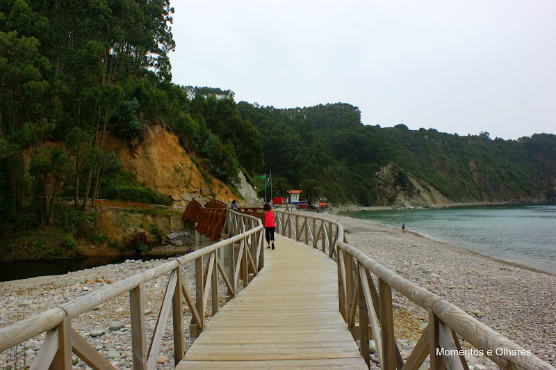 La Concha de Artedo, playa, Astúrias