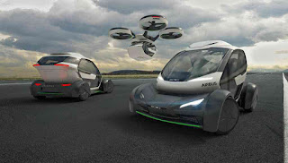 Airbus reveals flying car concept at 2017 Geneva Motor Show