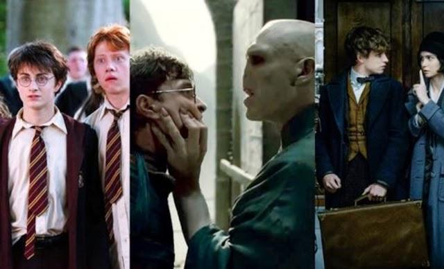 Todos os filmes de Harry Potter, classificados pelo Letterboxd