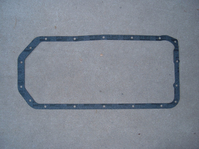 Oil pan gaskets, OPG-B 1957-66 18.00,  OPG-A  1953-56 22.00